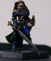 DnD Minis 14-Cleric Woman by mandy-the-mental