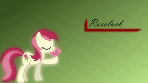 Roseluck - simple wallpaper by RainbowRage12