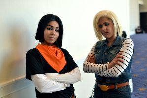 Android 17 and 18 by JHussey92