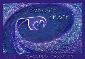 Peace Hug... pass it on by Lyrrian