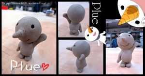 Plue by pottery clay by icecream80810