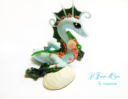 Thalassa, Sea Spirit Dragon 2 by rosepeonie