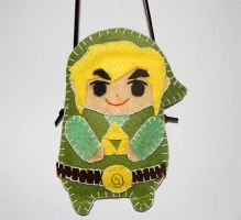 The Legend of Zelda mobile purse by knil-maloon