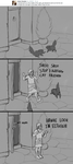 Dragon age - Catfight by Kelgrid