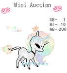 Adorable Pastel Mini Auction by Puffy-Pony