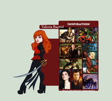 Character Inspiration: Valeria by RoCueto