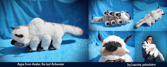 Appa custom plush by Peluchiere