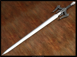 Luciendar - Sword of Light by GypsFulvus