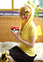 Pikachu: Lightning-Mouse In The Sun by AnyaPanda