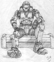 Master Chief by darthabyss567