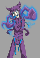 Shiny Haunter Gijinka by TehArtMonkey