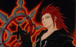 Kingdom Hearts: Axel by starxade