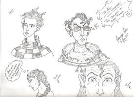 Edge Chronicles Doodles by jacquelynfisher
