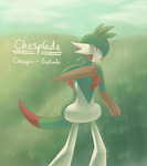 Pokefusion | Chesplade by Sir-Herp