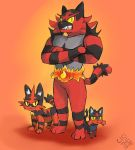 fiery felines by CiciTheSage