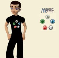 MTG T-shirt Male by elvenbladerogue