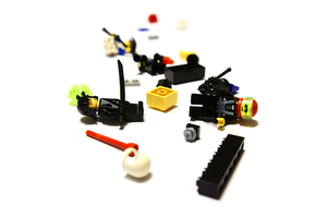 NEX 5 test shot: Legos by Davidwoodfx