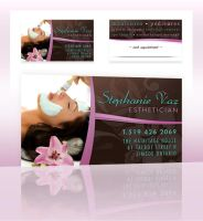 Business Card - Stephanie Vaz by rjm