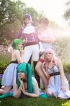 Vocaloid - The Duke's Girls by aco-rea