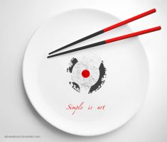 Simple is art by adnanalsouri