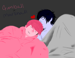 Gumball x Marshall Lee by Gochure