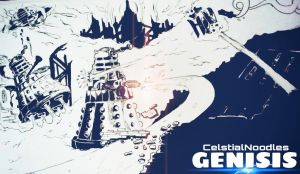 Genisis of the Daleks. by CelestialNoodles