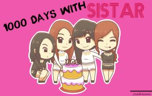 1000 Days with SISTAR by jinsuke04