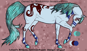 Free Adoptable -SOLD- by emgeal