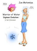 Warrior of Water by NebuNeferu