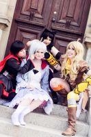 RWBY~ Friends Forever by EllysettaRain