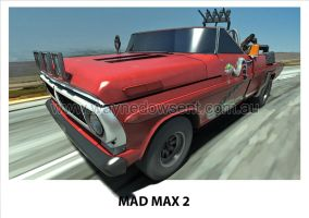 MAD MAX 2 F100 by waynedowsent