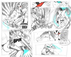 Random Fight Scene 1 by Evelynism