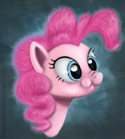Pinkie Pie Portrait by Doathokjir