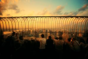 Top of the Empire State VI by martinasdf
