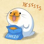 Harp Seal Friend:  Cheesy by zillabean