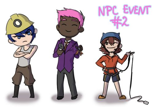 NPC Event #2 by KumaTeddi