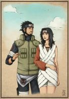 Asuma Kurenai Commission by Edward-Oldwall