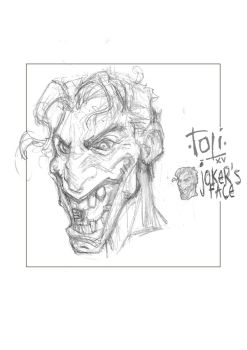 JOKER'S FACE matte by 7oti
