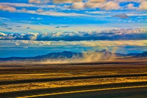 The Forty Mile Desert by cameraloupe
