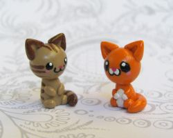 Itty Bitty Kitties by DragonsAndBeasties