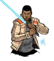 Star Wars: The Force Awakens: Finn by FelipeSmith