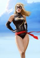 Ms. Marvel by Skaya3000