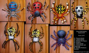 Spiders!!! by ART-fromthe-HEART