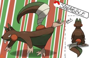 Squirrel Fakemon by TRspicy