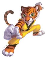 KungFu tiger by J-C