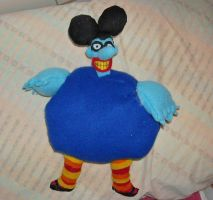 Blue Meanie Plush by DonutTyphoon