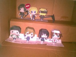 durarara set not complete by Grim-paper
