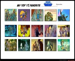 Jefimus Top 15 He-man and MOTU 2002 Episodes by JefimusPrime