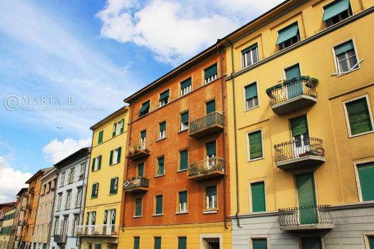 Pisa, Italy by renaboo