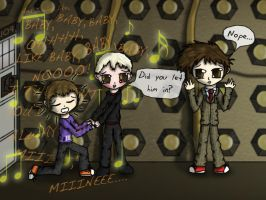 Justin Bieber in the TARDIS? by Atlantihero-Kyoxei